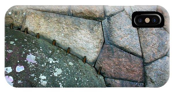 Stitched Stones IPhone Case