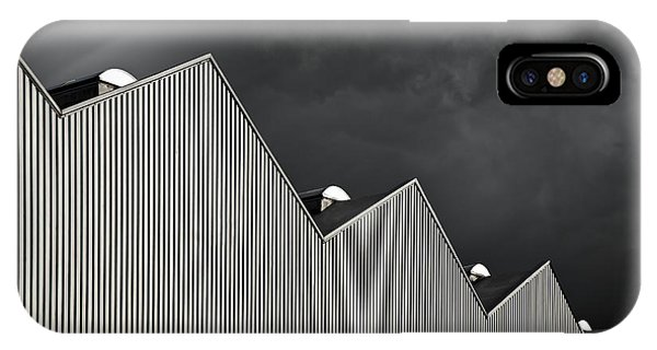 Rooftops iPhone Case - Stock-in-trade by Gilbert Claes