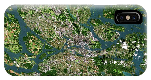 Stockholm Phone Case by Planetobserver/science Photo Library
