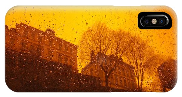 Stockholm The Heights Of South In Silhouette IPhone Case