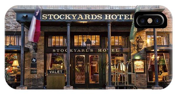 Stockyards Hotel IPhone Case
