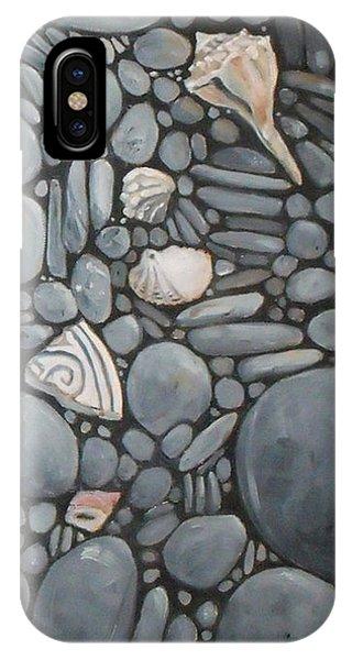 Stone Beach Keepsake Rocky Beach Shells And Stones IPhone Case
