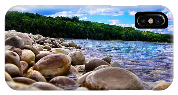 Stone Beach IPhone Case
