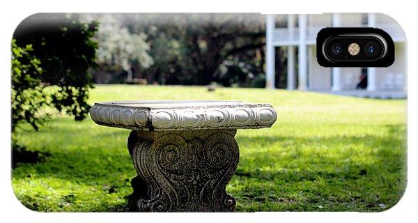 Stone Bench IPhone Case