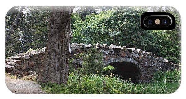 Stone Bridge At Stow Lake IPhone Case