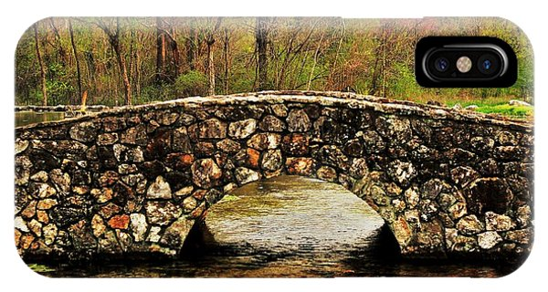 Stone Bridge In The Ozarks IPhone Case