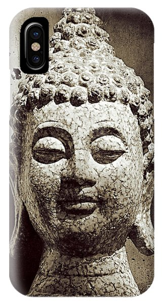 Stone Buddha IPhone Case