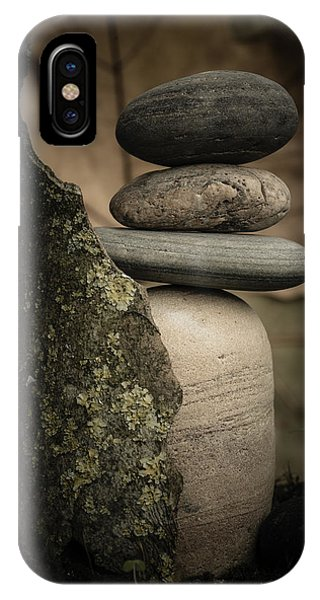Stone Cairns IIi IPhone Case