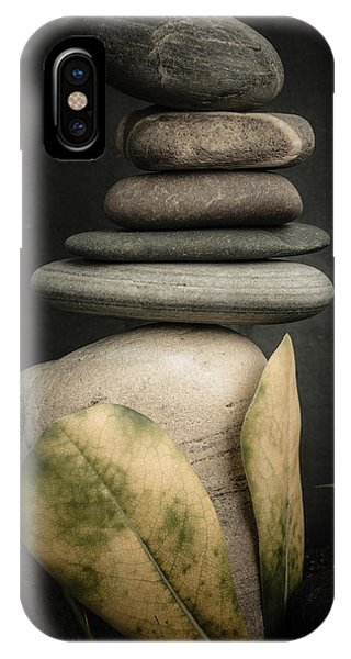 Stone Cairns V IPhone Case