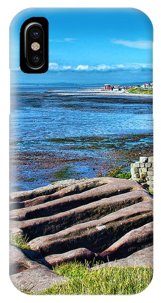 Stone Coffins Heysham IPhone Case