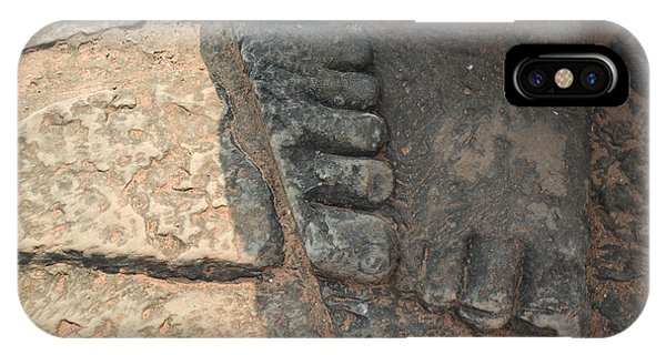 Stone Feet Cambodia IPhone Case