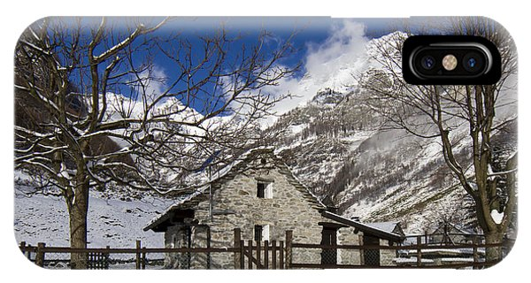 Stone House IPhone Case