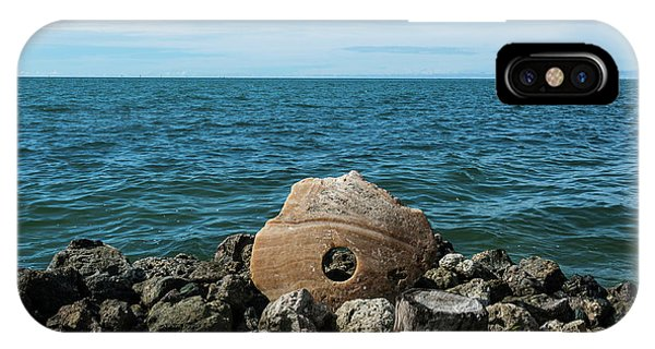 Micronesia iPhone Case - Stone Money On The Island Of Yap by Michael Runkel