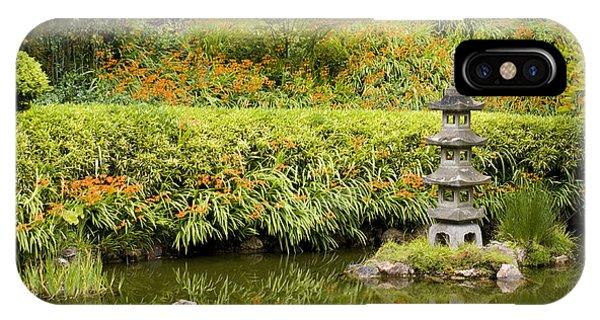 Stone Pagoda IPhone Case