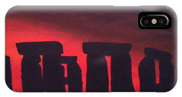 Stonehenge At Dusk IPhone Case