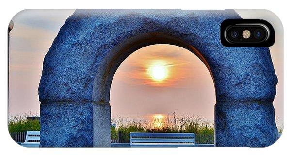 Sunrise Through The Arch - Rehoboth Beach Delaware IPhone Case