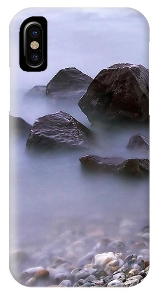 Stones In Lake  IPhone Case