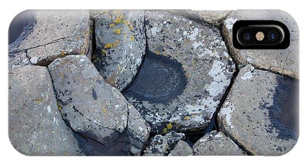Stones On Giant's Causeway IPhone Case