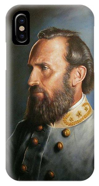 Monument iPhone Case - Stonewall Jackson by Glenn Beasley