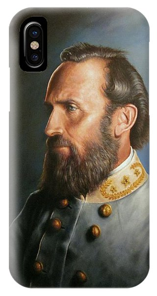Bull Art iPhone Case - Stonewall Jackson by Glenn Beasley
