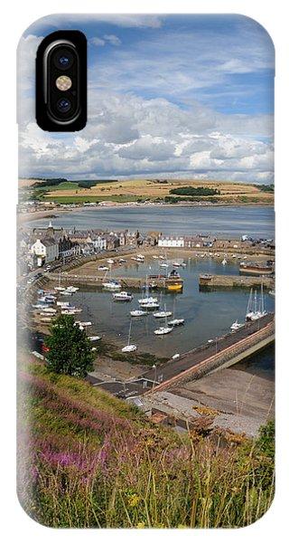 Stonhaven Harbour  Scotland IPhone Case
