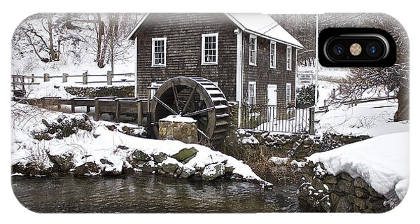 Stony Brook Grist Mill Of Brewster IPhone Case