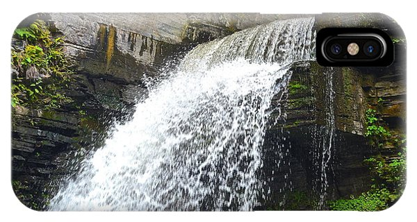 Stop Action iPhone Case - Stop Action Waterfall by Frozen in Time Fine Art Photography