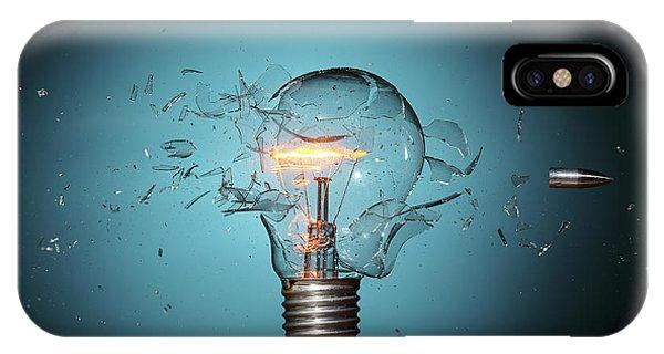 Crash iPhone X Case - Stop Global Warming by Lex Augusteijn
