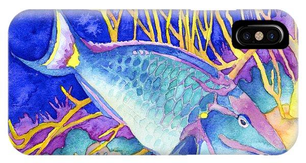 Stoplight Parrotfish IPhone Case