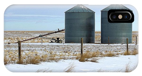 Storage Bins On The Prairie IPhone Case