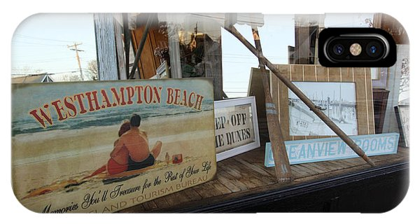 Store Front Westhampton New York IPhone Case