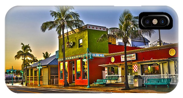 Store On Fort Myers Beach Florida IPhone Case