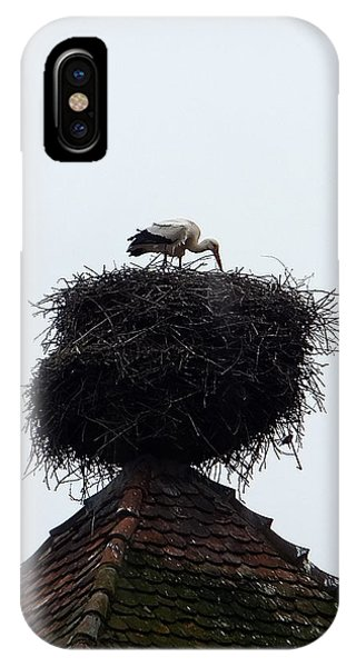 Stork IPhone Case