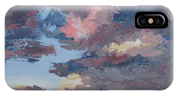 Storm A Brewin Phone Case by Janis Mock-Jones