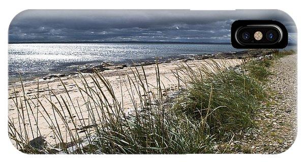Storm Arising Dornoch Beach Scotland IPhone Case