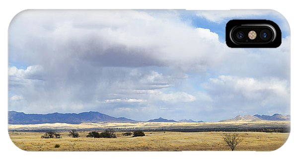 Storm Brewing North Of Sonoita Az IPhone Case