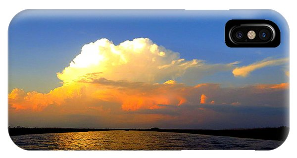 Storm Clouds At Dusk IPhone Case