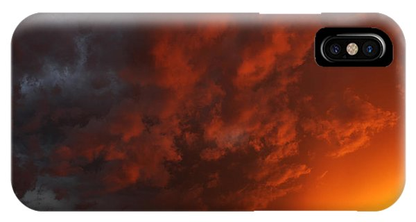 Storm Clouds Over Yorkton II IPhone Case