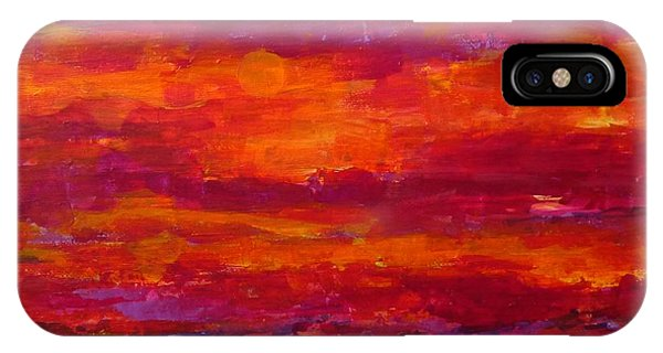 Storm Clouds Sunset IPhone Case