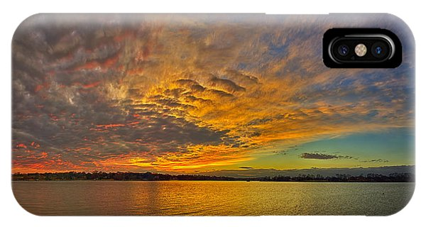 Storm Front Sunset II Phone Case by Dan Holland