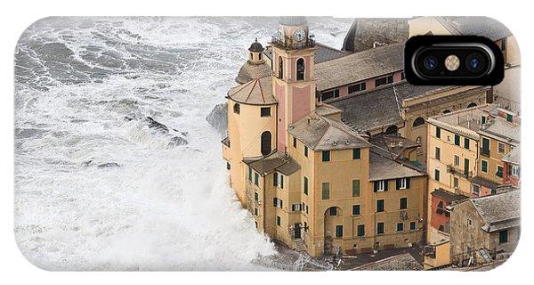 Storm In Camogli IPhone Case