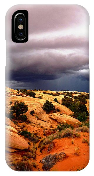 Storm In The Desert IPhone Case