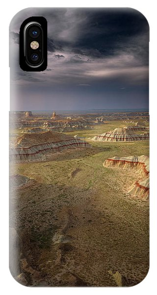 Sandstone iPhone Case - Storm In The Distance by Greg Barsh