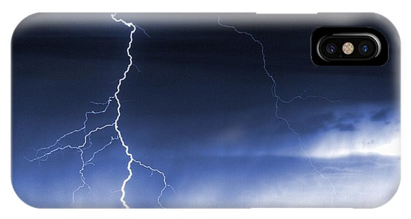 Storm On The Prairie IPhone Case