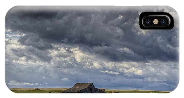 Storm Over Barn IPhone Case