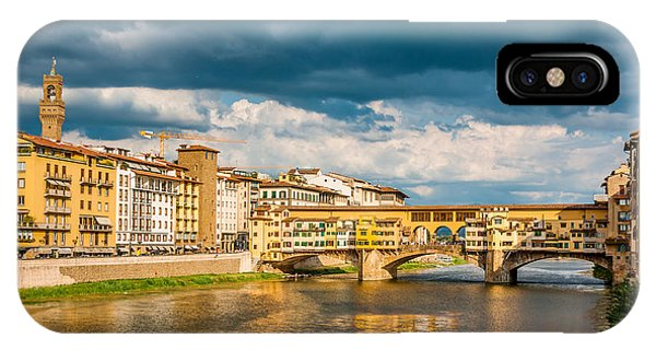 Storm Over Florence IPhone Case