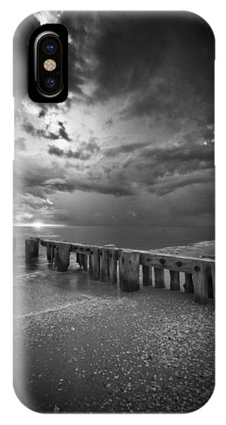 Storm Over Naples Florida Beach IPhone Case