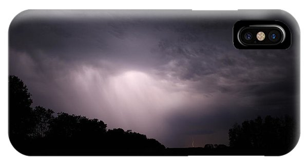 Storm Over Wroxton IPhone Case