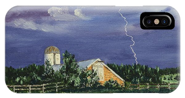Storm Rolling In IPhone Case