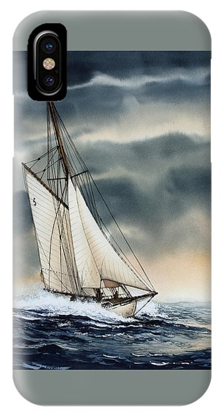 Storm Sailing IPhone Case